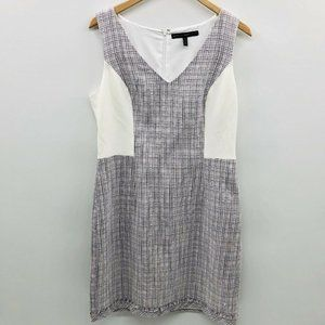 White House Black Market Sleeveless Tweed Dress